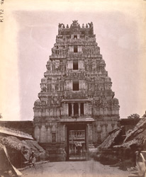 Gopura of the Ranganatha Temple, Srirangam 10032464